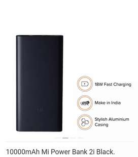 mi power bank 10000mAh new unused pak..