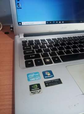 Acer v5-471g core i3 SSD 128gb + HDD 500gb ram 6gb Nvidia 620m