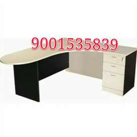 New l shape reception table office table  L shape office table