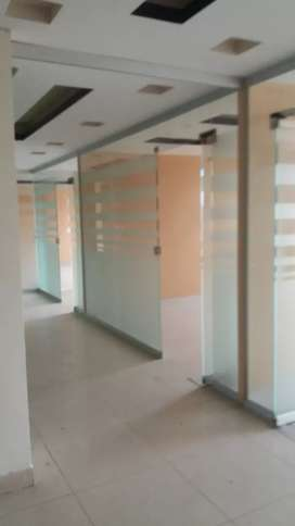 Blue area office 1500 square feet for Rent prime location
