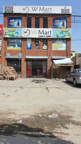1 Kanal Commercial Plaza For Rent Near Canal Road In Johar Town Lahore
