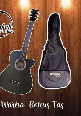 Jual gitar akustik free tas ymh