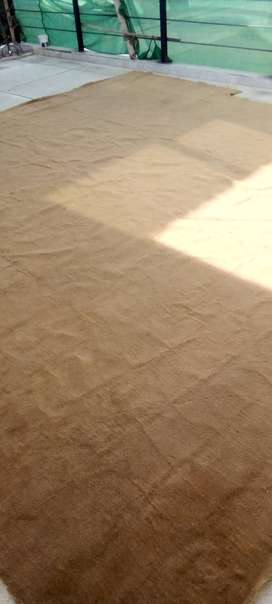 Camel color carpet in a very good condition