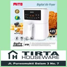 Air Fryer Digital Mito DigiFryer 4L Low Watt Goreng Tanpa Minyak