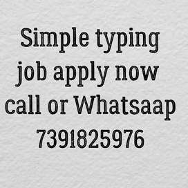 simple typing work for everyone.