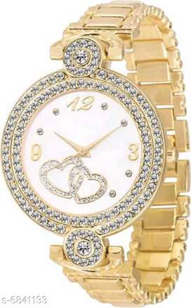 Classy Women Watches  Strap Material: Metal Display Type