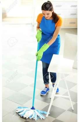 Dis wash clean nd floor