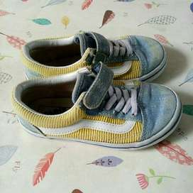 sepatu anal vans kids original preloved