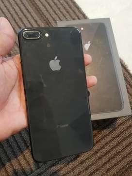 Iphone 8 plus 256gb fullset lengkap masih segel