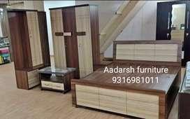 Bed & wardrobe combo package (vastra)