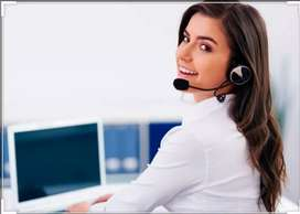 female compute operator and front office