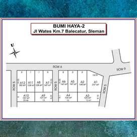 Tanah Jl. Wates Jogja Gratis 3 M Asuransi Kesehatan