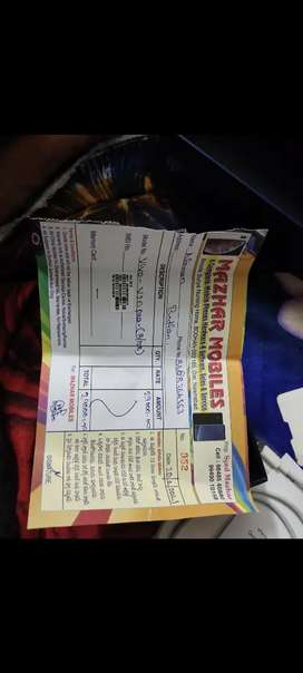 Neet mobile good condition  only 4 munth mobile  bill box available