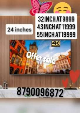 4k BRAND NEW SMART 43 INCH LED TV WITH 2 YEAR WARRANTY