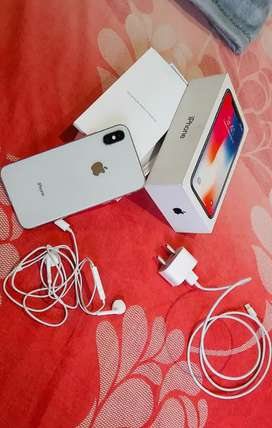 iPhone x 256 gb white