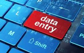 Data entry, copy typist