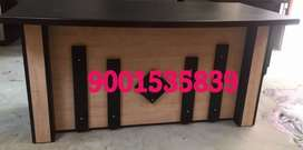 Neww wooden office table reception table boss table at banipark
