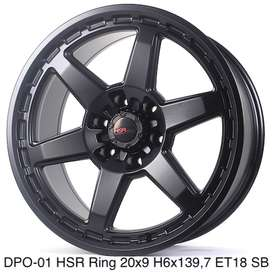 Velg Mobil Grand Fortuner DPO-01 HSR Ring 20