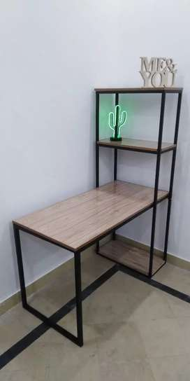 2 in 1 Modern Computer Desk Wid PC Workstation Study Table home Office