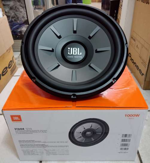 New Box Pack JBL 12 Inch Sub Woofer Boombastic Bass With Double Magnet 0