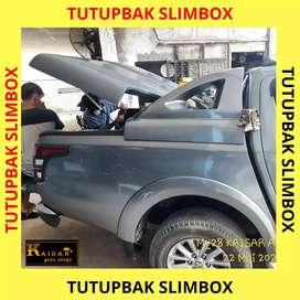 Tutup bak model slimbox triton lama dan baru dc ready stock