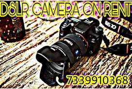 CAMERA ON RENT 325/- RUPEES PER DAY