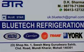 Required Helpers for Air condition and Refrigerator repair and service
