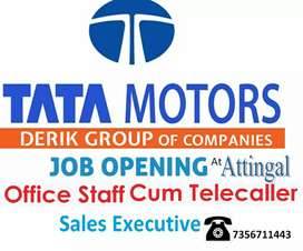 Marketing ex and  lady office staff