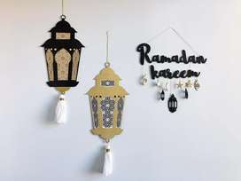 Wall hanging decors for ramzan