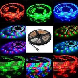 Lampu led strip RGB warna warni