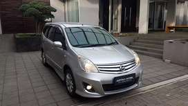 Nissan Grand Livina 1.5 XV MT Manual 2012 Silver ASTINA MOBIL