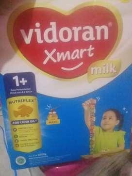 Dijual susu vidoran 1+ ukuran 1 kg rasa madu