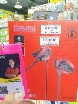 Headset gaming gamen GE100