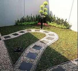 Taman hijau serang