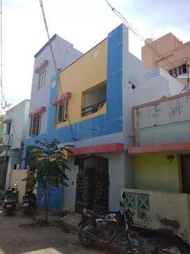 4 houses and 2 floors. Thiruvalluvar Nagar 7th street