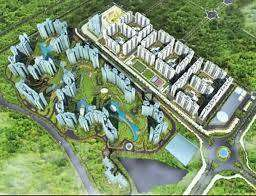 Spacious 2 BHK in Luxury township in New Kharadi