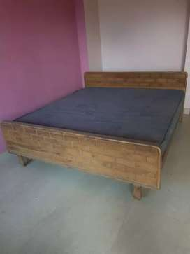 Wooden.bed in good condition