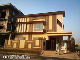 10 marla 45 Feet front newly built house for sale