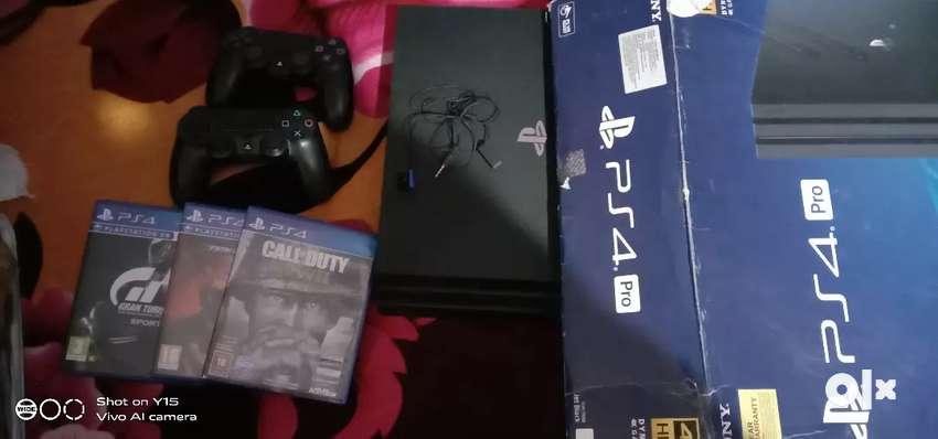 PS 4 PRO Sony 0