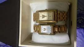 Jam tangan couple kondisi baik layak pakai