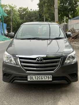 Toyota Innova 2.5 GX (Diesel) 7 Seater BS IV, 2014, Diesel