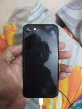 Iphone 7 jet black 32gb with box
