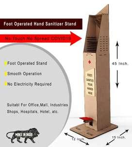 Wooden Sanitizer dispenser