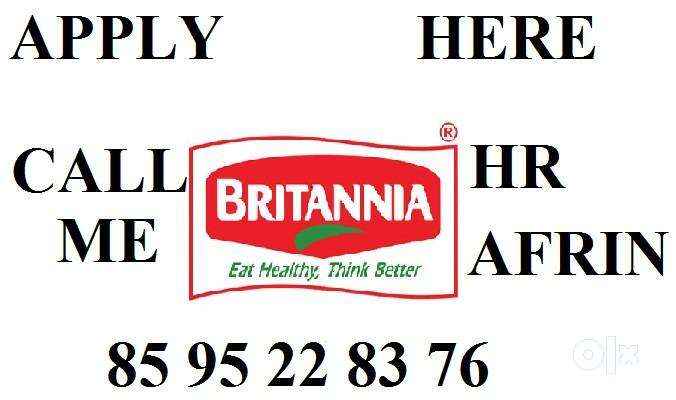 Britannia Industries Jobs Hiring Full Time,Store Keeper,Supervisor.Now