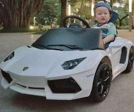 Mobil model lamborgini untuk usia 1-6 tahun