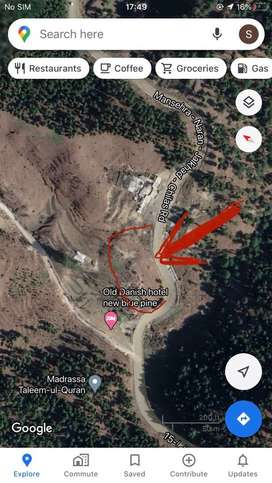 19 kanal land for sale near jabbah ,on balakot road