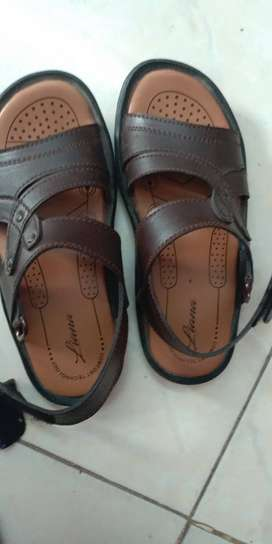 Blue shoes of breakout and brown boys sandal of ndure