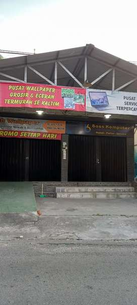 Dijual ruko 2 pintu pinggir jalan arah karang rejo ke karang jati
