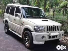 Mahindra Scorpio 2008 Mhawk White Color Diesel Well Maintained