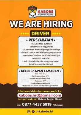 Lowongan Kerja Driver Yogyakarta Kabobs Premium Kebab